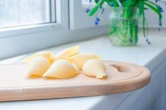 Ζυμαρικά και μακαρόνια άψητα Στοκ εικόνες με δικαίωμα ελεύθερης χρήσης