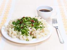 Γεύμα ζυμαρικών στοκ φωτογραφίες με δικαίωμα ελεύθερης χρήσης