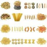 ζυμαρικά συλλογής Στοκ εικόνα με δικαίωμα ελεύθερης χρήσης