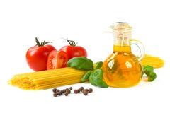 ζυμαρικά συστατικών στοκ εικόνες