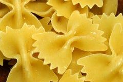 ζυμαρικά 02 farfalle στοκ φωτογραφίες