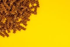 Ζυμαρικά Fusilli στοκ φωτογραφία με δικαίωμα ελεύθερης χρήσης