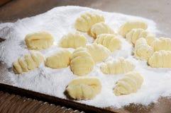 ζυμαρικά gnocchi Στοκ Εικόνες