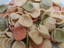 Ζυμαρικά Orecchiette από την Ιταλία Στοκ Φωτογραφίες