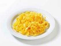 Ζυμαρικά Tagliatelle Στοκ Εικόνα
