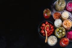 Ζυμωνομμένα συντηρημένα τρόφιμα στοκ εικόνα με δικαίωμα ελεύθερης χρήσης