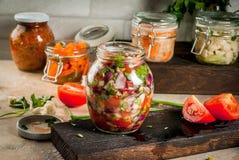 Ζυμωνομμένα συντηρημένα τρόφιμα Στοκ Εικόνα