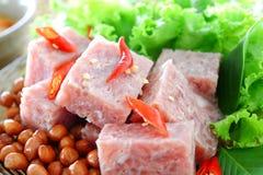 ζυμωνομμένο χοιρινό κρέας Στοκ εικόνες με δικαίωμα ελεύθερης χρήσης