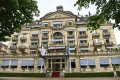 Ζυρίχη, Ελβετία - 3 Ιουνίου 2017: Λάκκα Au Ίντεν ξενοδοχείων στη Ζυρίχη στοκ εικόνα