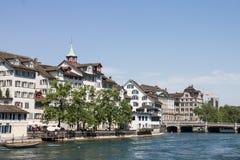 Ζυρίχη Ελβετία Στοκ Φωτογραφίες