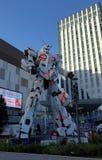 Ζωή αγαλμάτων Gundam μονοκέρων - ταξινομήστε τη στάση μπροστινός του plaza Τόκιο πόλεων δυτών σε Odaiba στοκ φωτογραφία με δικαίωμα ελεύθερης χρήσης
