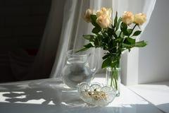ζωή ακόμα άσπρη Στοκ Φωτογραφία