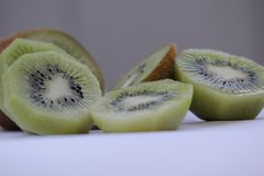 1 ζωή ακόμα Συγκομιδή φρούτων juicy ακτινίδιο Στοκ Εικόνες