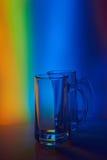 1 ζωή ακόμα Wineglass γυαλιού της μπύρας Στοκ Εικόνες