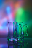 1 ζωή ακόμα Wineglass γυαλιού της μπύρας Στοκ Φωτογραφίες