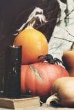 Ζωή αποκριών ακόμα με την αράχνη Στοκ εικόνα με δικαίωμα ελεύθερης χρήσης
