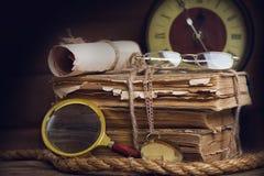 ζωή βιβλίων ακόμα Στοκ φωτογραφίες με δικαίωμα ελεύθερης χρήσης