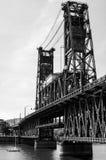 Ζωή γεφυρών του Πόρτλαντ Στοκ Εικόνες