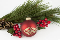 Ζωή διακοσμήσεων Χριστουγέννων ακόμα Στοκ Εικόνες