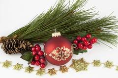 Ζωή διακοσμήσεων Χριστουγέννων ακόμα Στοκ εικόνα με δικαίωμα ελεύθερης χρήσης