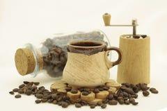 ζωή καφέ ακόμα Στοκ Φωτογραφία