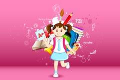 ζωή κοριτσιών διανυσματική απεικόνιση