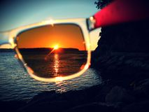 Ζωή μέσω των γυαλιών μου στοκ φωτογραφία με δικαίωμα ελεύθερης χρήσης