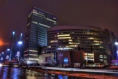 Ζωή νύχτας πόλεων Στοκ Φωτογραφίες