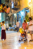Ζωή νύχτας πόλεων Nafplio στοκ φωτογραφίες με δικαίωμα ελεύθερης χρήσης