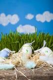 Ζωή Πάσχας ακόμα με τα αυγά Πάσχας Στοκ φωτογραφίες με δικαίωμα ελεύθερης χρήσης