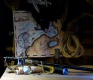 Ζωή πειρατών ακόμα Στοκ Φωτογραφίες