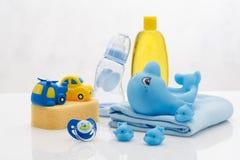 Ζωή προϊόντων πρώτης ανάγκης υγιεινής μωρών ακόμα στοκ εικόνες με δικαίωμα ελεύθερης χρήσης
