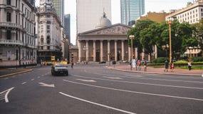 Ζωή πόλεων και άποψη οδών στο Μπουένος Άιρες στοκ εικόνα με δικαίωμα ελεύθερης χρήσης