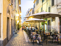 Ζωή πόλεων στο Castel Gandolfo, pope& x27 θερινή αρμοστεία του s, Ιταλία Στοκ εικόνα με δικαίωμα ελεύθερης χρήσης