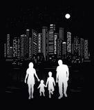 Ζωή πόλεων ελεύθερη απεικόνιση δικαιώματος