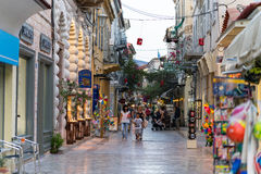 Ζωή πόλεων Nafplio στοκ εικόνες