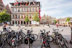 Ζωή στην πόλη Antwerpen Στοκ Εικόνα