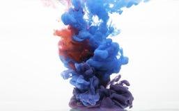 Ζωή στην υδάτινη φωτογραφία 2 χρωμάτων Στοκ Φωτογραφία