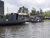 Ζωή στον ποταμό του δέλτα Antainambalana, Antsiranana, Μαδαγασκάρη Στοκ εικόνα με δικαίωμα ελεύθερης χρήσης