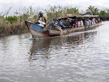 Ζωή στον ποταμό του δέλτα Antainambalana, Antsiranana, Μαδαγασκάρη Στοκ Εικόνες