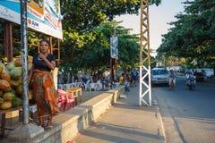 Ζωή στους δρόμους στην πόλη Toamasina, Μαδαγασκάρη Στοκ εικόνες με δικαίωμα ελεύθερης χρήσης