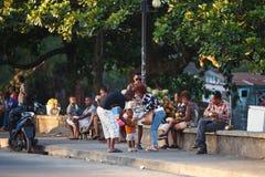 Ζωή στους δρόμους στην πόλη Toamasina, Μαδαγασκάρη Στοκ φωτογραφίες με δικαίωμα ελεύθερης χρήσης