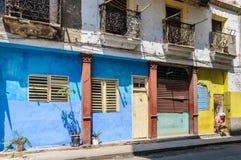 Ζωή στους δρόμους στο Λα Habana Vieja, Κούβα Στοκ Φωτογραφία