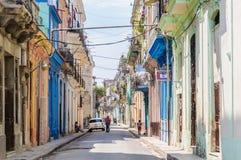 Ζωή στους δρόμους στο Λα Habana Vieja, Κούβα Στοκ φωτογραφίες με δικαίωμα ελεύθερης χρήσης