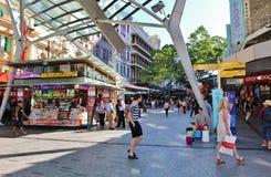 Ζωή στους δρόμους στο Μπρίσμπαν Στοκ Εικόνες