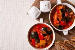 Ζωή τροφίμων Letcho ακόμα Στοκ Φωτογραφίες