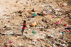 Ζωή τρωγλών Mumbai Στοκ φωτογραφίες με δικαίωμα ελεύθερης χρήσης