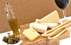 ζωή τυριών ακόμα Στοκ φωτογραφία με δικαίωμα ελεύθερης χρήσης