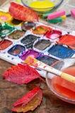 Ζωή φθινοπώρου ακόμα με το watercolor Στοκ φωτογραφίες με δικαίωμα ελεύθερης χρήσης