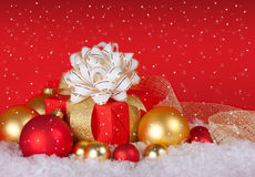 Ζωή Χριστουγέννων ακόμα Στοκ Εικόνα
